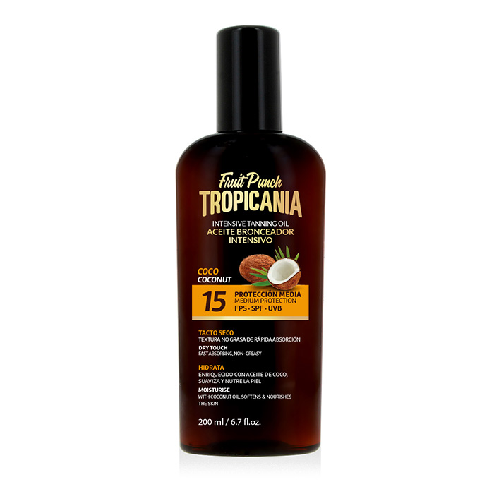 Aceite bronceador intensivo Coco SPF 15