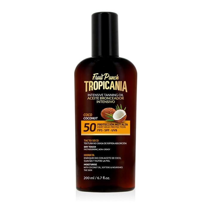 Aceite bronceador intensivo coco